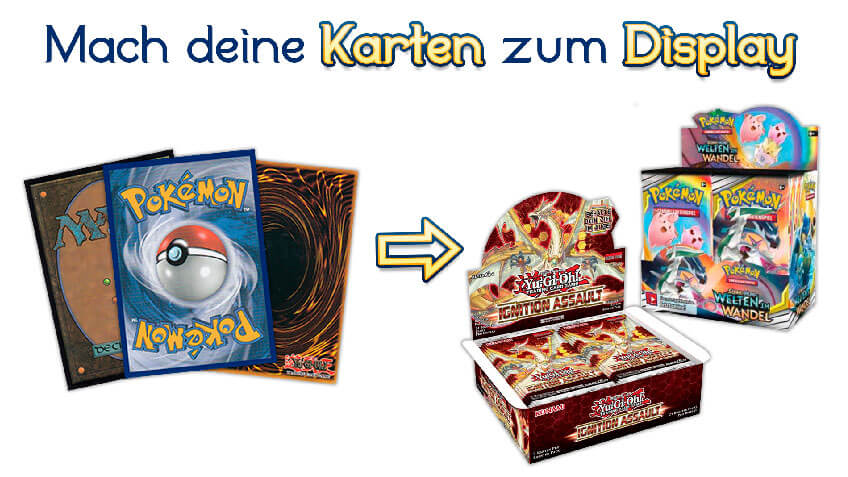 Pokemon Magic Yugioh Karten Ankauf