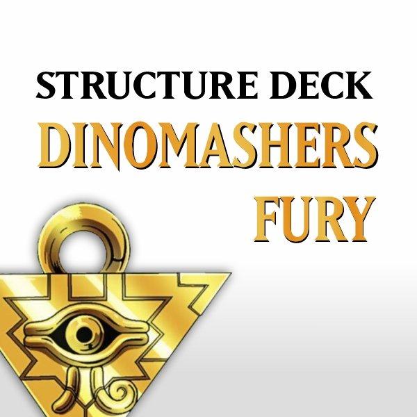 Structure Deck - Dinosmashers Fury (SR04)