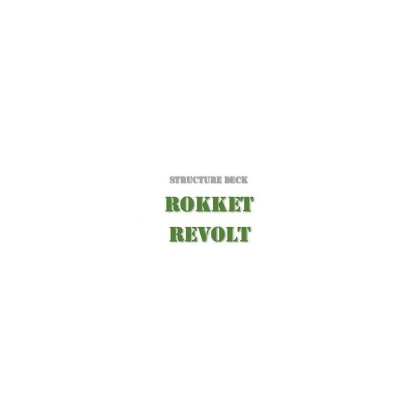 Structure Deck - Rokket Revolt (SDRR-DE)