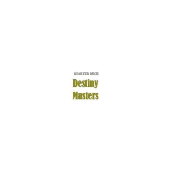 Starter Deck: Destiny Masters (SS01)