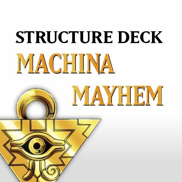 5D's Structure Deck - Machina Mayhem (SDMM)