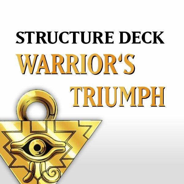 Structure Deck - Warrior's Triumph (SD5)