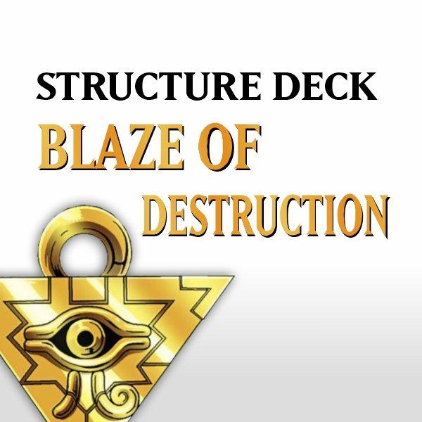 Structure Deck - Blaze of Destruction (SD3)
