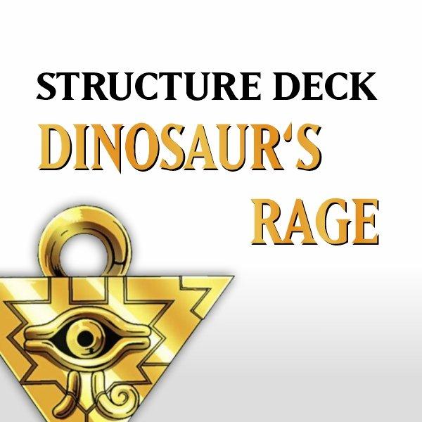 Structure Deck - Dinosaur's Rage (SD09)