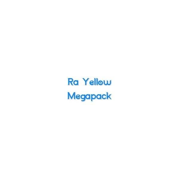 Ra Yellow Megapack (RYMP)