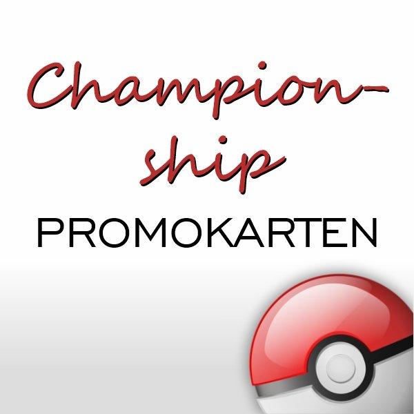 Championship Promokarten