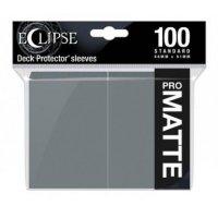 Ultra Pro Eclipse Sleeves - Grau Matt (100 Kartenhüllen)
