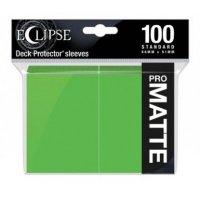 Ultra Pro Eclipse Sleeves - Hellgrün Matt (100 Kartenhüllen)