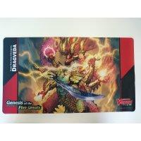 Cardfight Vanguard OverDress - Dragveda - Spielmatte
