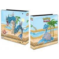 Pokemon Gallery Series Seaside Kapador, Garados, Lapras Album Ultra Pro (Ringordner)