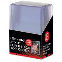 Ultra Pro Standard Toploader 3x4 Zoll (extrem dicke Schutzhüllen 200pt)