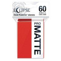 Ultra Pro Eclipse Sleeves - Rot Matt small (60 Kartenhüllen)