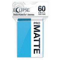 Ultra Pro Eclipse Sleeves - Hellblau Matt small (60 Kartenhüllen)