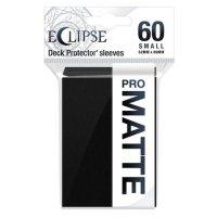 Ultra Pro Eclipse Sleeves - Schwarz small Matt (60 Kartenhüllen)
