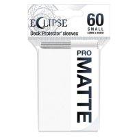 Ultra Pro Eclipse Sleeves - Weiß small Matt (60 Kartenhüllen)