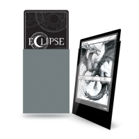 Ultra Pro Eclipse Sleeves - Grau Gloss (100 Kartenhüllen)