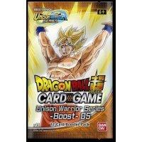 Dragon Ball Super Unison Warrior Series Set 5 - Cross Spirits Booster
