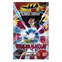 Dragon Ball Super Unison Warrior Series - Vermilion Bloodline B11 2nd Edition Booster