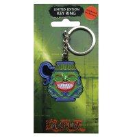Yu-Gi-Oh! Pot of Greed / Topf der Gier Metall Schlüsselanhänger - Key Ring *LIMITIERTE EDITION*