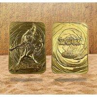 Yu-Gi-Oh! 24 Karat Gold plattiert Metallplatte Dark Magician Girl *LIMITIERTE EDITION*