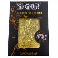 Yu-Gi-Oh! 24 Karat Gold plattiert Metallplatte Dark Magician *LIMITIERTE EDITION*
