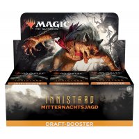 Innistrad: Mitternachtsjagd Draft Booster Display (36 Packs, deutsch)