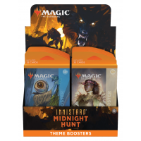 Innistrad: Midnight Hunt Theme Booster Display (12 Packs, englisch)