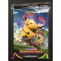 Pokemon Schwert und Schild Farbenschock Sammler-Kit (inklu. Booster)