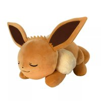 Evoli (schlafend) Plüschfigur 45 cm - Pokemon Kuscheltier von Wicked Cool Toys