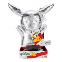 Silver Pikachu 25th Anniversary Plüschfigur 25 cm - Pokemon Kuscheltier von Wicked Cool Toys