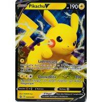 Pikachu V SWSH061 PROMO XXL OVERSIZED/ÜBERGROß