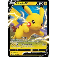Pikachu V SWSH061 PROMO XXL OVERSIZED/ÜBERGROß Englisch