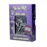 Yu-Gi-Oh! Metalplatte - Schwarz Glänzender Soldat *LIMITIERTE EDITION*