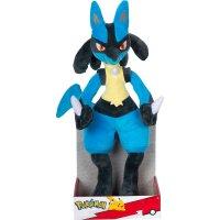 Lucario Plüschfigur 30 cm - Pokemon Kuscheltier von Wicked Cool Toys