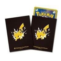 Pokemon Sleeves - Pikachu (64 exklusive japanische Kartenhüllen)