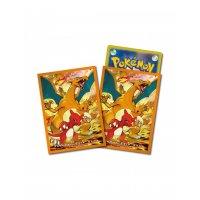 Pokemon Sleeves - Glumanda, Glutexo, Glurak (64 exklusive japanische Kartenhüllen)