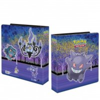 Pokemon Gallery Series Haunted Hollow Gengar, Skelabra, Zobiris, Traunfugil, Mimigma Album (Ultra Pro Ringordner)