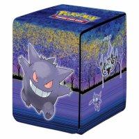 Pokemon Ultra Pro Flip Deck Box - Gallery Series Haunted Hollow Gengar, Skelabra, Zobiris, Traunfugil, Mimigma