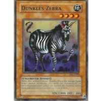 Dunkles Zebra