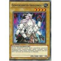 Genverzerrter Kriegswolf