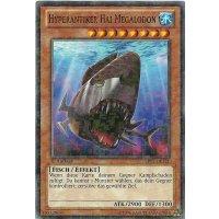 Hyperantiker Hai Megalodon MOSAIC RARE