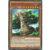 Alpakaribu, mystisches Ungeheuer des Waldes