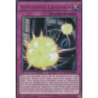 Ausgelöste Explosion