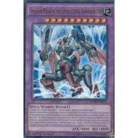 Imperion Magnum, der superleitende Kampfroboter