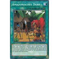 Amazonisches Dorf