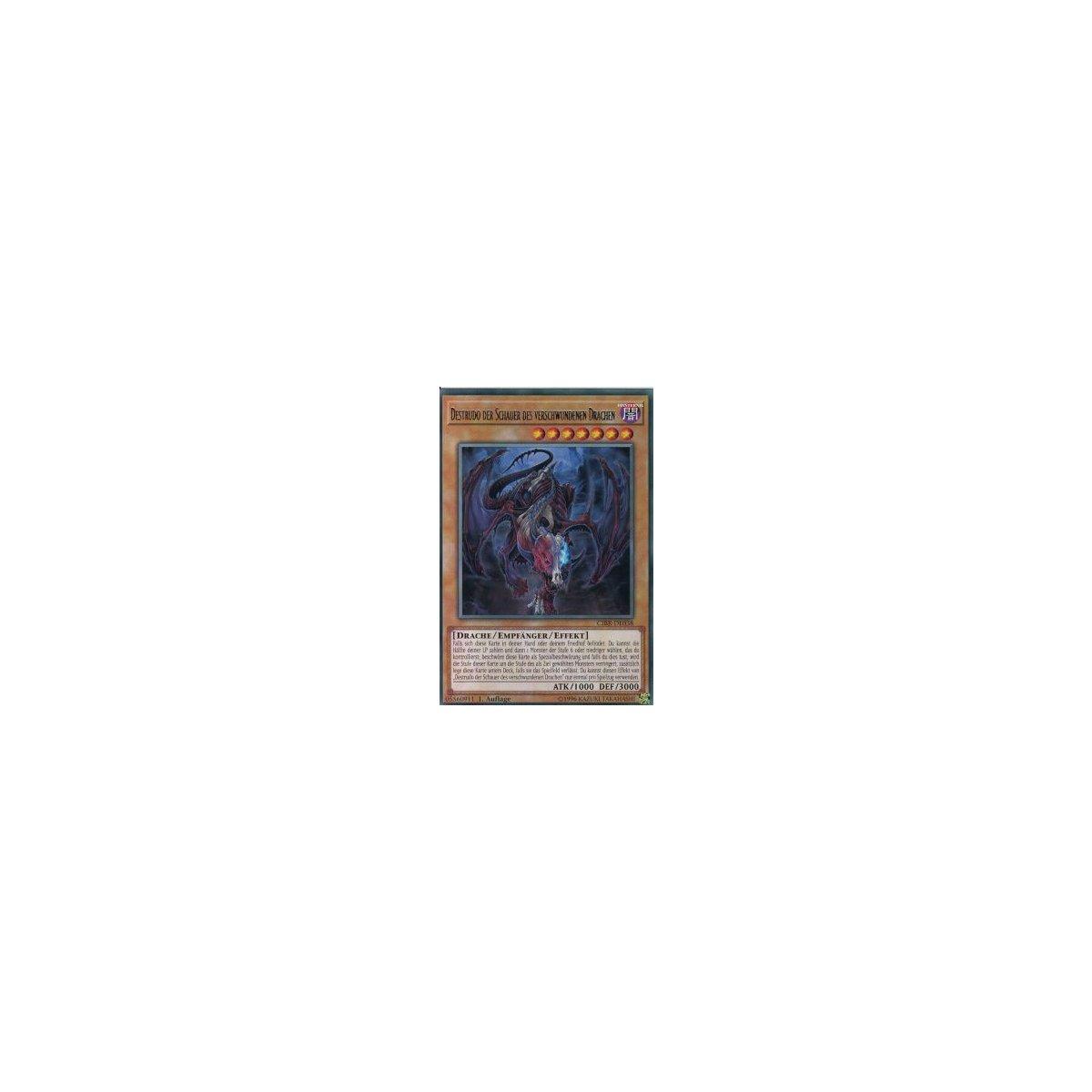 Destrudo Der Schauer Des Verschwundenen Drachen CIBR-DE038 1 Auflage YUGIOH EX
