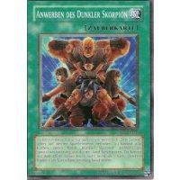 Dunkler Skorpion-Anwerber