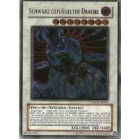 Schwarz Geflügelter Drache (Ultimate Rare)