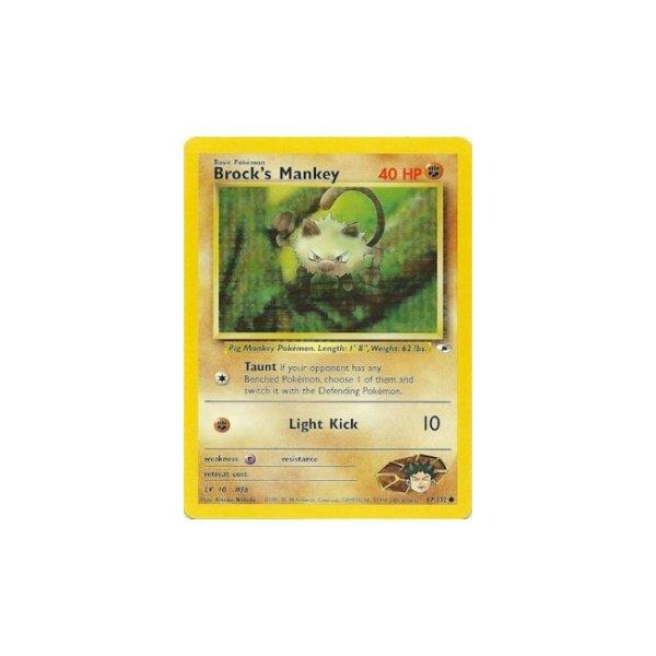 Brocks Mankey 67/132