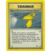 Hyper-Rückentwicklungs-Spray